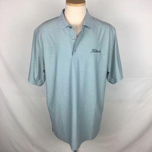 FootJoy Polo Gray Shirt Mens Large FJ